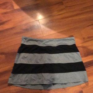 Fila  workout scort with black shorts underneath